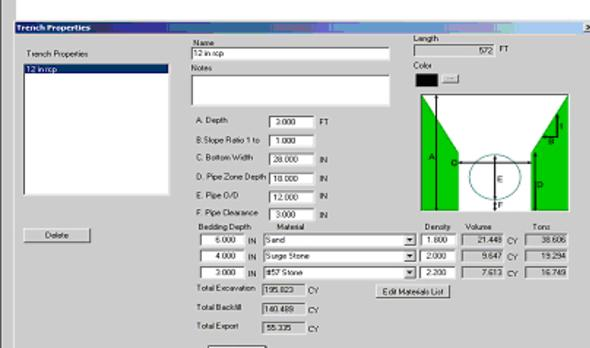 earthwork excavation software