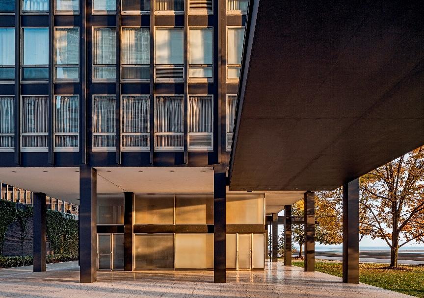 860 880 Lake Shore Drive Apartments Harboe Architects