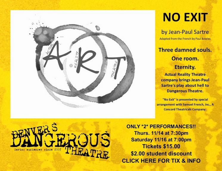 No exit ticketing at Dangerous theatre