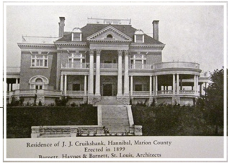 Rockcliffe Mansion, residence of Mr. Cruikshank