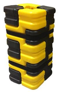 Column Sentry FIT Medium Yellow-Black