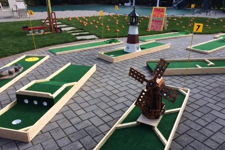 Rent Portable Mini Golf Chattanooga Tn Partytime Inflatable