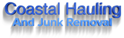 coastal hauling and junk removal text