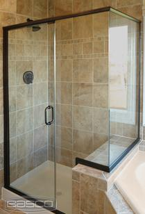 Picture of Basco Classic semi framless shower