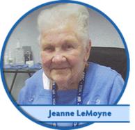Jeanne LeMoyne a customer of All Clear Hearing Centers.