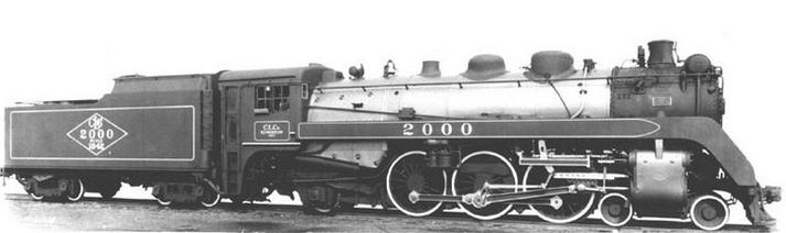 Builders photo of the Canadian Locomotive Company's 2,000th locomotive. It was renumber to CP 2396.