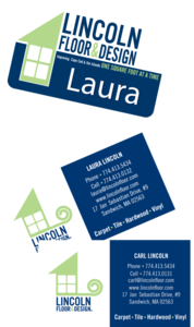 Name Badge, Business Cards