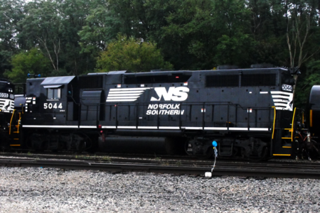 NS No. 5044 (High short hood) at NS Inman Yard. (Ex-Southern).