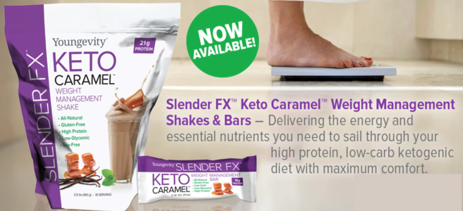 Slender FX™ Keto Caramel™ Weight Management Shake