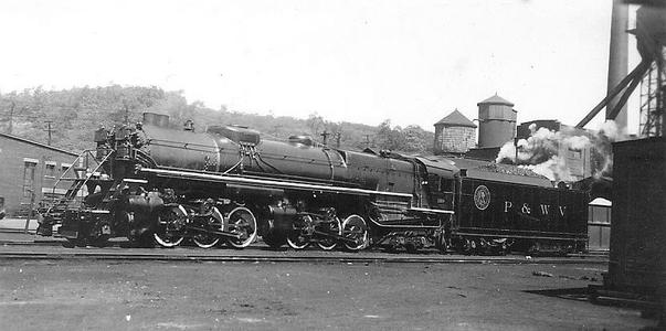 Pittsburgh and West Virginia No. 1102.