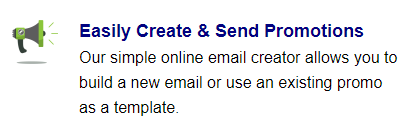 Easily Create and Send Promotions - Response Magic