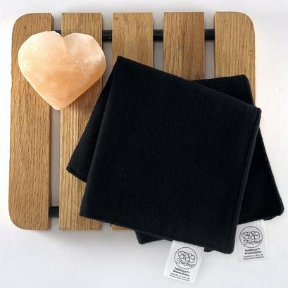 Best Black Washcloth and Face cloth for sensitive skin