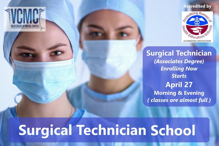 surgical technician associates degree of occupational science