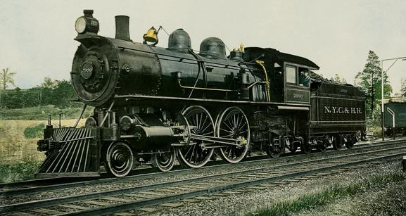 NYC & HRR Steam Locomotive No. 2990.