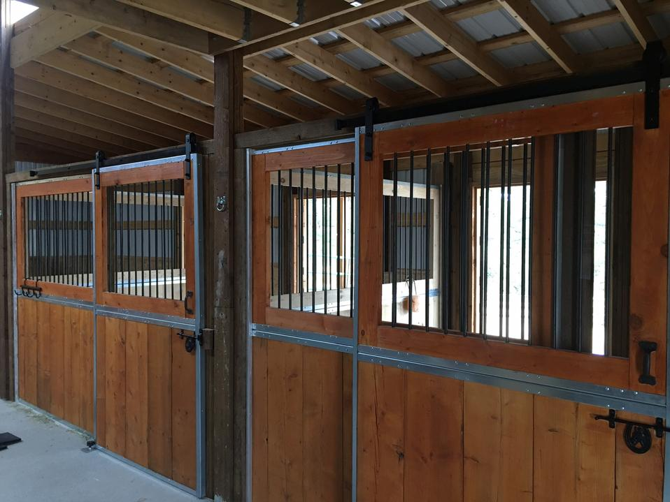Horse stalls and dividers