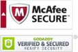 Secure website with McAfee