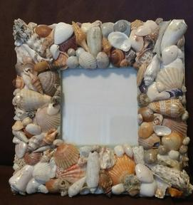 Handmade Seashell creations