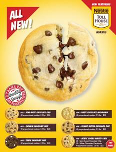 Toll House Cookie Dough 1 Page Fundraiser