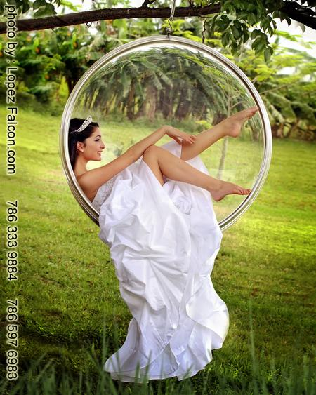 QUINCEANERA ON SWING HANGING CHAIR QUINCE MIAMI QUINCES 15 PICTURES WITH SWING 15 ANOS FOTOS CON COLUMPIO SILLA COLGANTE MECEDOR