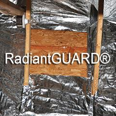 radiant barrier cutout