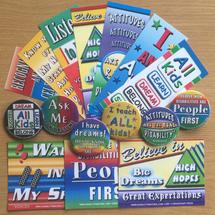 Bookmarks, Badges, Magnets, More