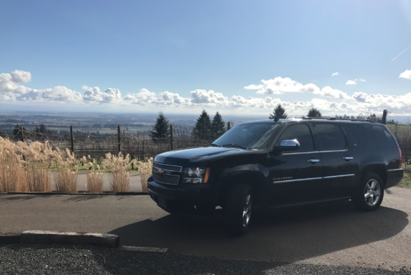 Custom wine tours in Williamette Valley from American Town Car