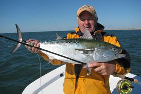 false albacore fly fishing