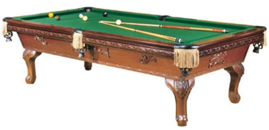 PreOwned Pool Tables - Connelly pool table disassembly