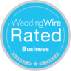 wedding wire member badge