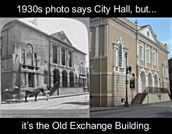 Old Exchange Building on Charleston tour