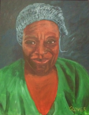 """That Lady"" Acrylic Painting"