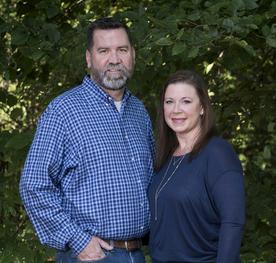 La Cave Warehouse owners Kirk and Rhonda Chandler
