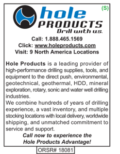 Drilling Supplies, Hole Products