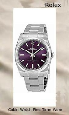 Rolex Oyster Prepetual Automatic Purple Grape Dial Stainless Steel Unisex Luxury Watch 114200RGSO,rolex yacht master