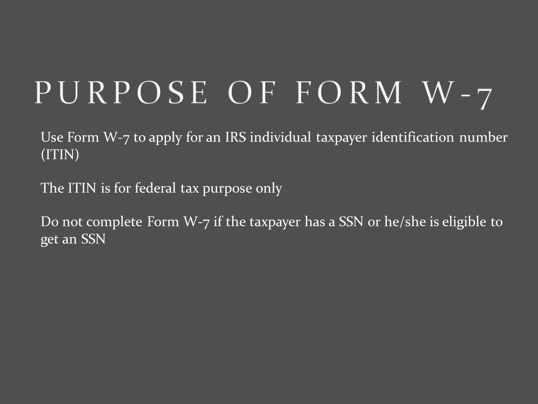 W7 application irs w7 form information falaconquin