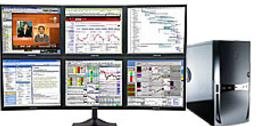 Multiple monitor computer systems