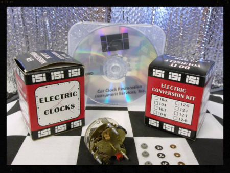 Electric Automotive Clock Repair Kit