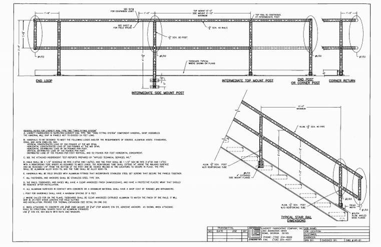 Handrail DWGS