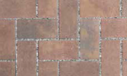 Unilock Permeable Paver in Eco-Priora Coffee Creek Color Tumbled Finish