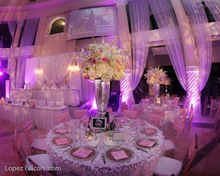 QUINCEANERA PARIS PARTY CENTERPIECE DECORATION STAGE