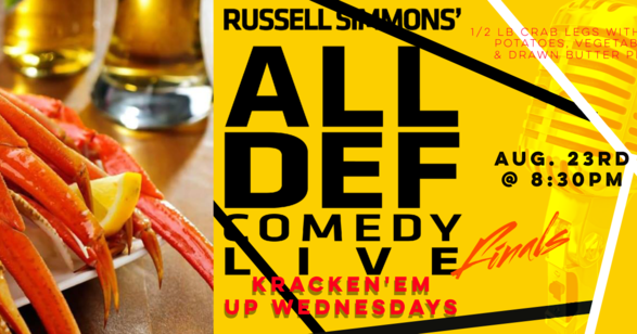 crab legs, seafood, dinner special, atlanta comedy, relapse theater, punchline comedy, laughing skull