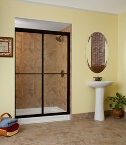 OSteen Glass And Mirror Shower Enclosure Shower Repair - Custom bathroom glass doors