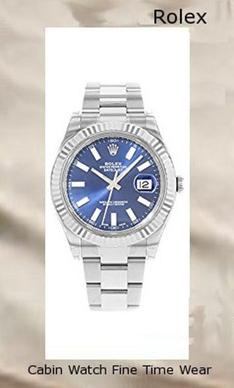 NEW Rolex Datejust II Stainless Steel and 18K White Gold Blue Dial Mens watch 116334 BLIO by Rolex,rolex yacht master