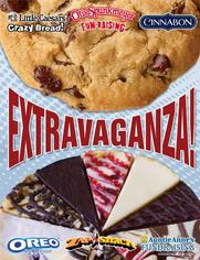 Extravaganza Brochure with Pizza Fundraising and more