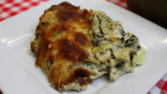 Spinach Artichoke Chicken Casserole, Low Carb/Keto Friendly Recipe Noreen's Kitchen
