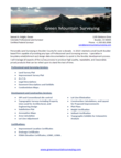 Land Surveying Flyer