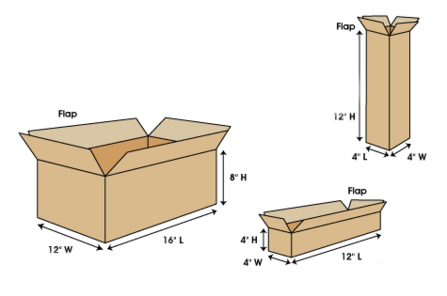 How to measure a box