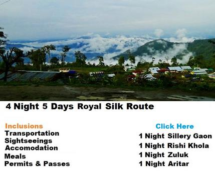 4 Night 5 Days Sikkim Silk Route Tour Packages
