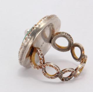 Carol Holaday - Poseidon's Ring - back view
