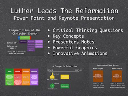 Luther Leads The Reformation PowerPoint